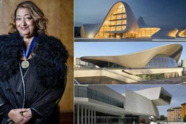 Medali Emas Kerajaan Inggris untuk Zaha Hadid