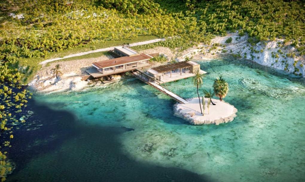 Rumah Pantai Mewah Lengkap dengan Dermaganya 2
