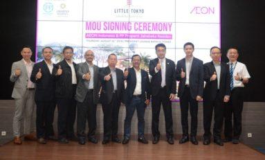 Little Tokyo Jababeka MoU dengan Aeon Indonesia Kembangkan Japanese Retail