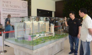 PT Izumi Sentul Realty Soft Launching Apartemen Opus Park
