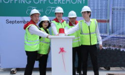 Apartment B Residence Laksanakan Topping Off Ceremony  Tower Tulip