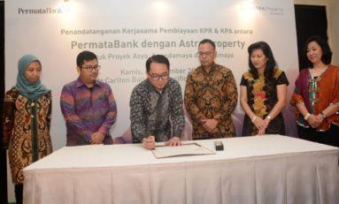 Permata Bank Komitmen Pembiayan KPR/KPA Proyek Astra Land Indonesia