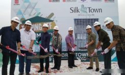 Progress Lebih Cepat, Silk Town Langsung Topping Off  Tower Alexandria