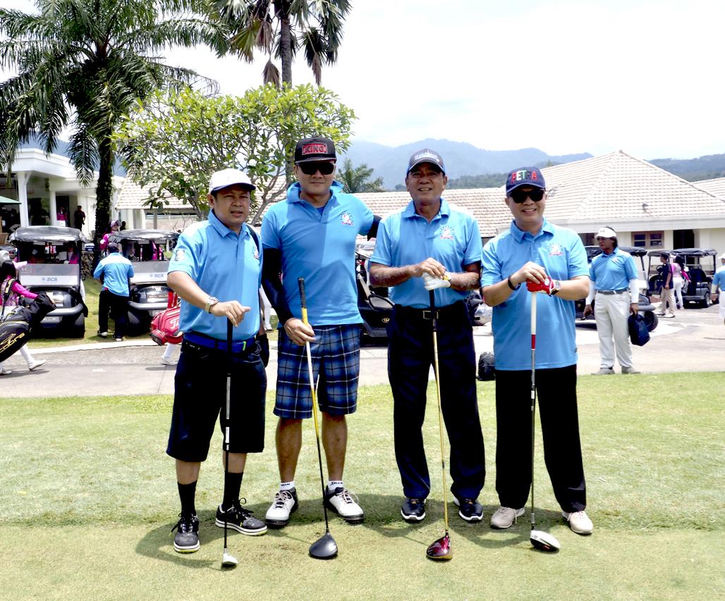 Sekitar 148 Golfer Merumput di KAUP BMB Ceria Golf Tournament 2019