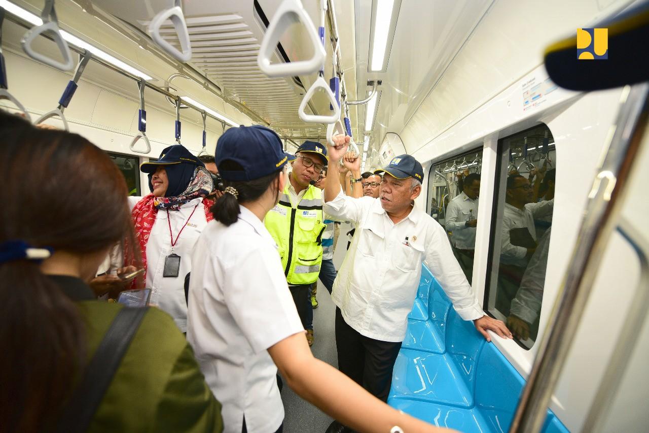 Uji Coba MRT Indonesia, Tidak Kalah Kualitasnya Dengan Negara Lain