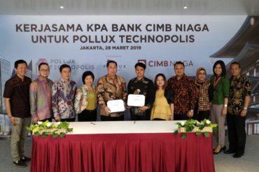 Pollux Technopolis Gandeng CIMB Niaga  untuk Kredit Kepemilikan Apartemen (KPA)