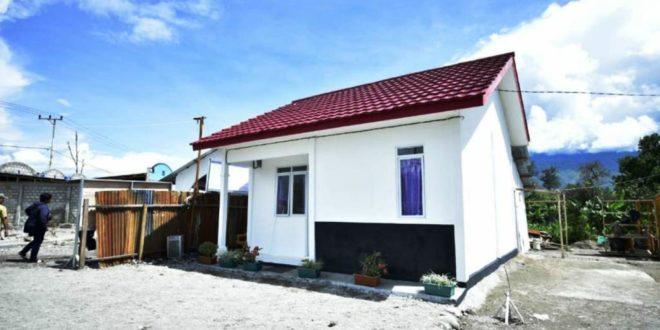193 Unit Rumah Khusus Korban Kerusuhan Wamena Selesai Dibangun  