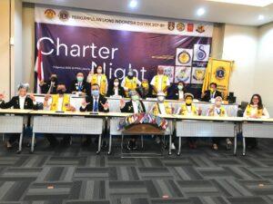Lions Club Jakarta Selatan Fun Urbana Dikukuhkan