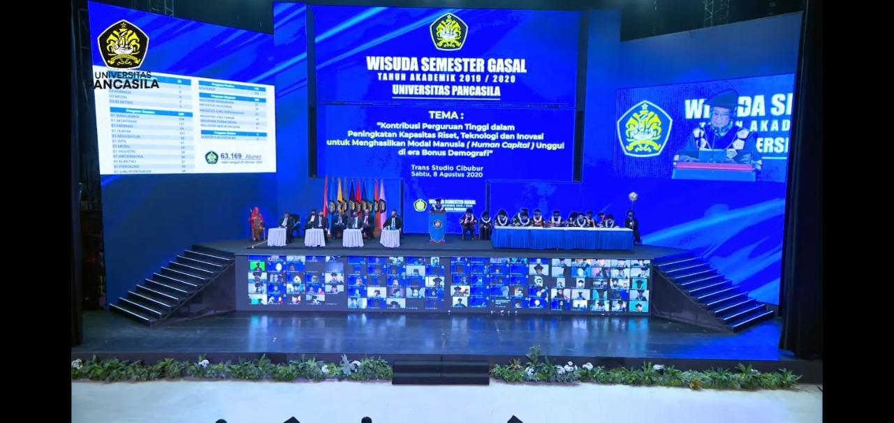 Cetak Alumni Tangguh, UP Gelar Wisuda Online di Tengah Pandemi
